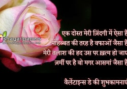valentine day whatsapp message shayari